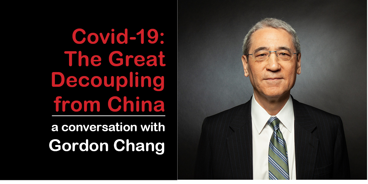 Gordon Chang Masthead